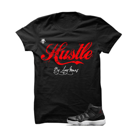 Hustle By Any Means Marvin The Martian 2 Black T Shirt