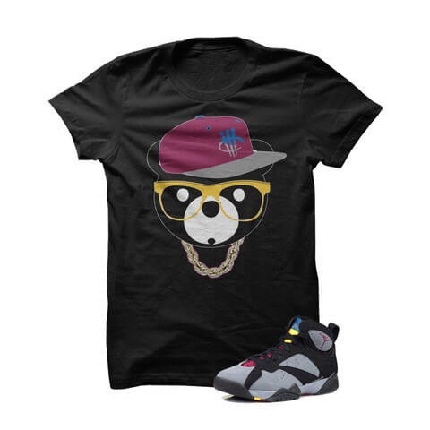 Stay Humble Hustle Hard Bordeaux 7s Grey T Shirt