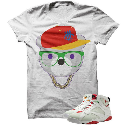 Addicted To Kicks Hare 7s White T Shirt