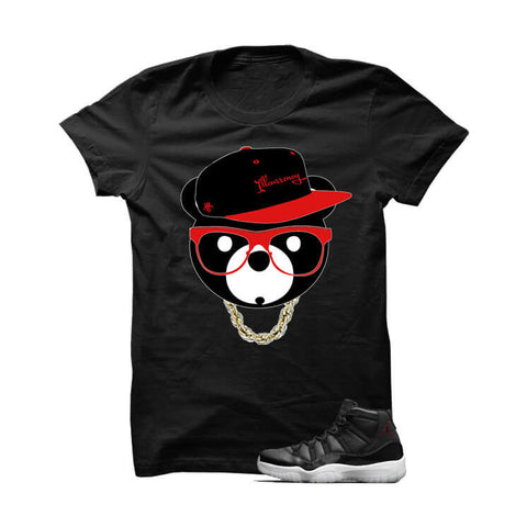 We See You Snakes Jordan 72 10 Black T Shirt