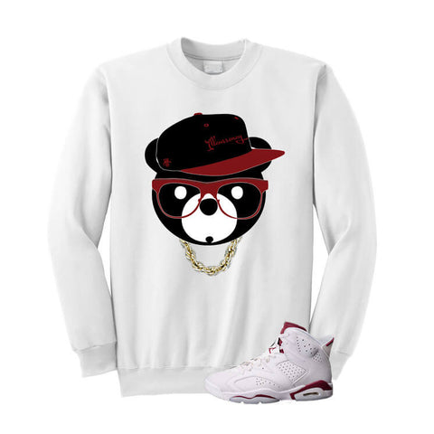 ill Bear Nothin But Net 7s White T Shirt
