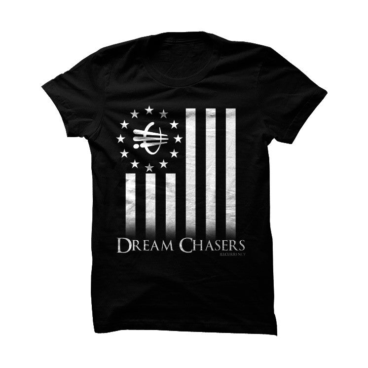 ill Dream Chasers Black T Shirt - illCurrency Matching T-shirts For Sneakers, Jordan's and foamposites