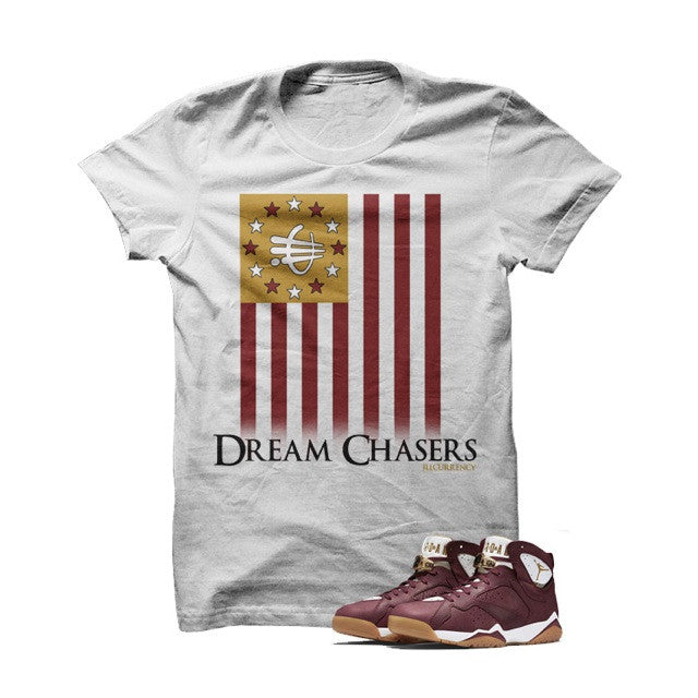 ill Dream Chasers Cigar7s White T Shirt - illCurrency Matching T-shirts For Sneakers, Jordan's and foamposites