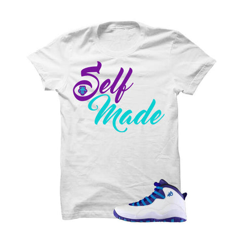 Jordan 10 Charlotte White T Shirt (My Time To Shine)