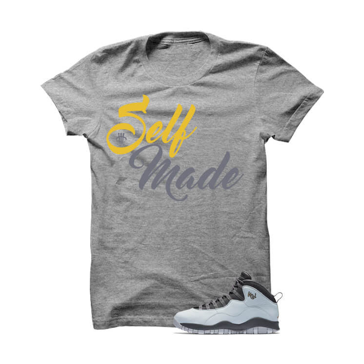 Shirt - Jordan 10 London Grey T Shirt (Self Made)