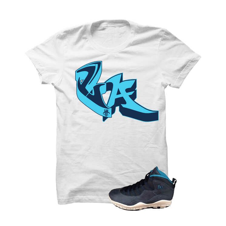 Jordan 10 Los Angeles White T Shirt (LA) - illCurrency Matching T-shirts For Sneakers and Sneaker Release Date News