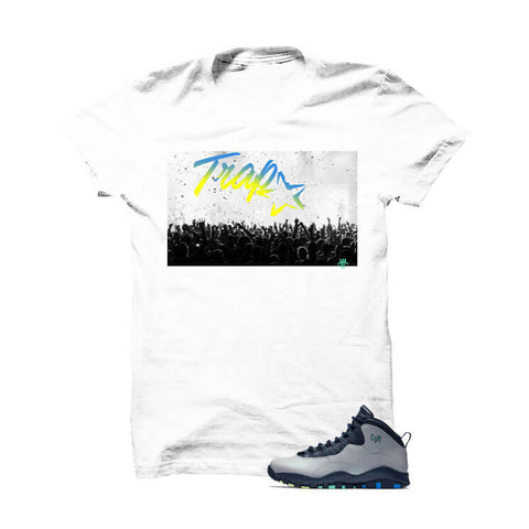 Jordan 10 Rio Grey T Shirt (Live Laugh Love Hustle)