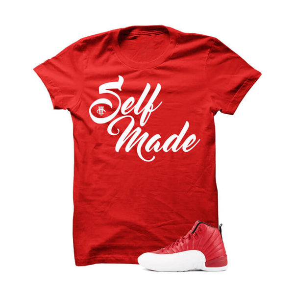 Jordan 12 Gym Red - Official Matchin Shirts