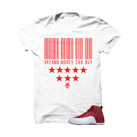 Jordan 12 Gym Red T Shirt (Love Is Fake)