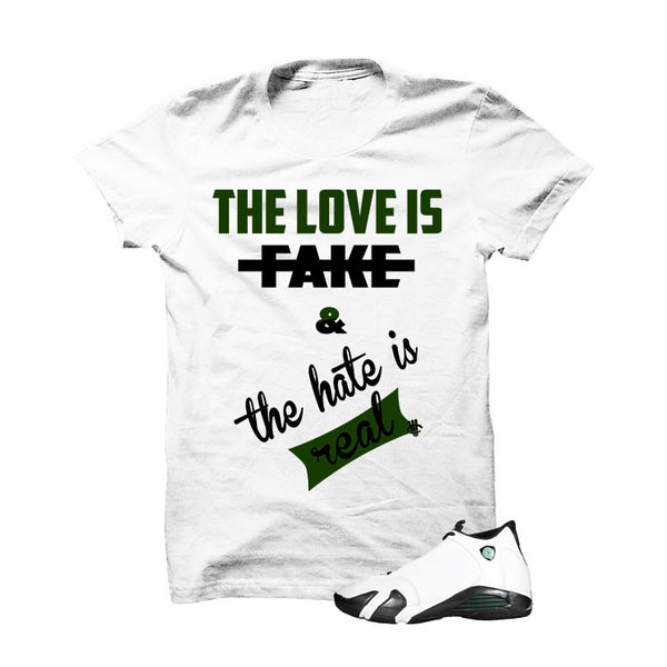 Jordan 14 Oxidized Green - Official Matching Shirts