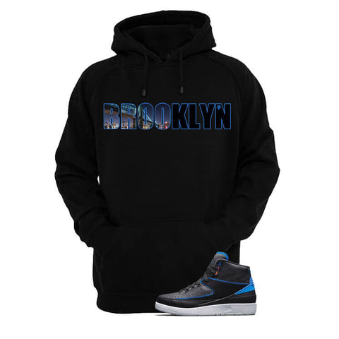Jordan 2 Radio Raheem Black Hoodie (Start Telling Lies)