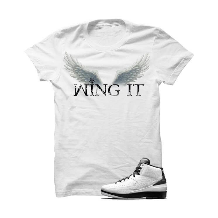 Jordan 2 Wing It White T Shirt - illCurrency Matching T-shirts For Sneakers, Jordan's and foamposites