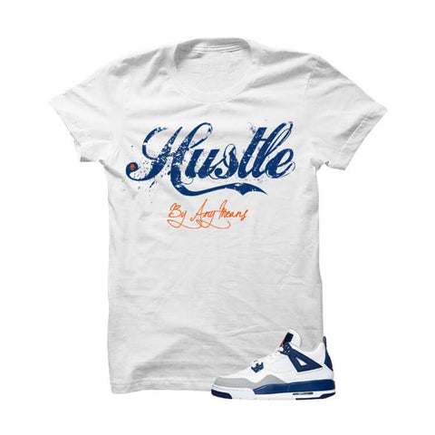 Jordan 4 Gs Deep Royal Blue White Sweatshirt (Good Life)