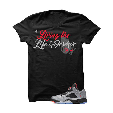 illCurrency Signature Diva LowBred13s Black T Shirt