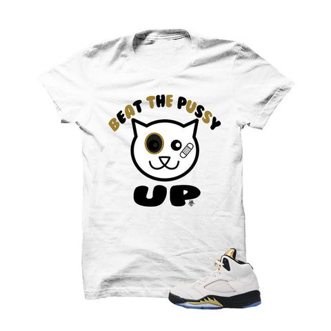 Jordan 5 Olympic White T Shirt (The Truth Will Set You Free)