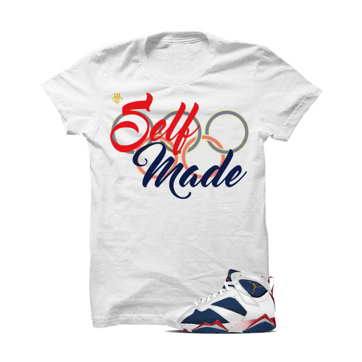 Jordan 7 Tinker Alternate White T Shirt (Self Made) - illCurrency Matching T-shirts For Sneakers and Sneaker Release Date News