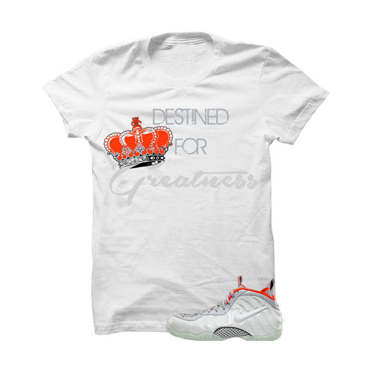 Pure Platinum Pro Foams White T Shirt (Destined) - illCurrency Matching T-shirts For Sneakers and Sneaker Release Date News