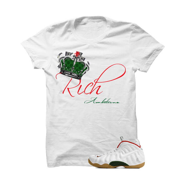 Rich Ambitions White Gucci White T Shirt - illCurrency Matching T-shirts For Sneakers and Sneaker Release Date News