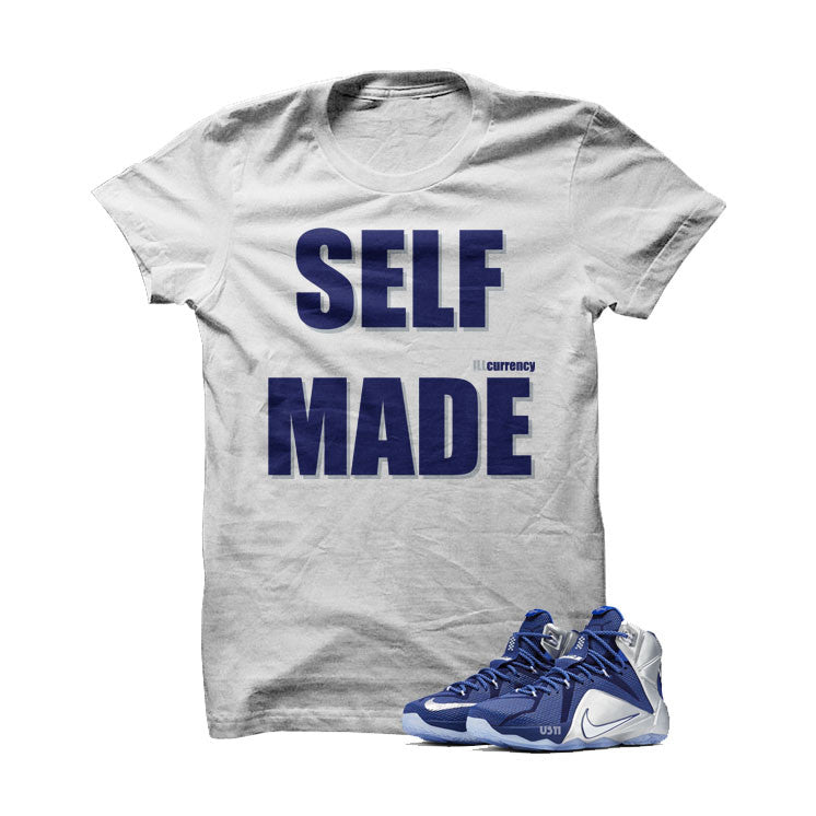 Self Made Cowboy Lebrons White T Shirt - illCurrency Matching T-shirts For Sneakers and Sneaker Release Date News