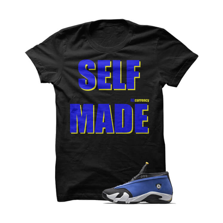 Self Made Laney Jordan 14 Black T Shirt - illCurrency Matching T-shirts For Sneakers and Sneaker Release Date News