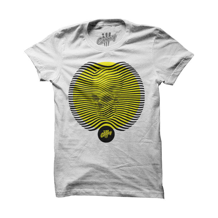 Skull Dimensions Blk/Yellow White Tee - illCurrency Matching T-shirts For Sneakers and Sneaker Release Date News