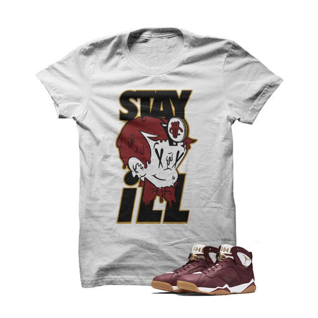 Stay ill Cigar7s White T Shirt - illCurrency Matching T-shirts For Sneakers and Sneaker Release Date News
