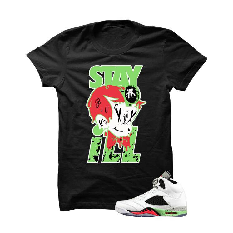 Stay ill ProStar5s Black T Shirt - illCurrency Matching T-shirts For Sneakers and Sneaker Release Date News