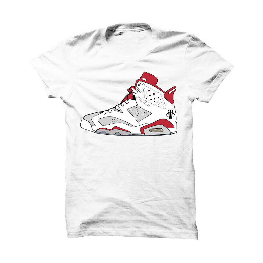 Jordan 6 Alternate White T Shirt (thy shoe)