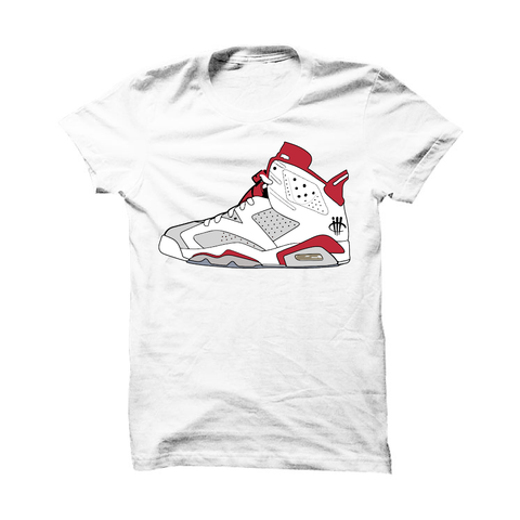Jordan 6 Alternate White T Shirt (1991)