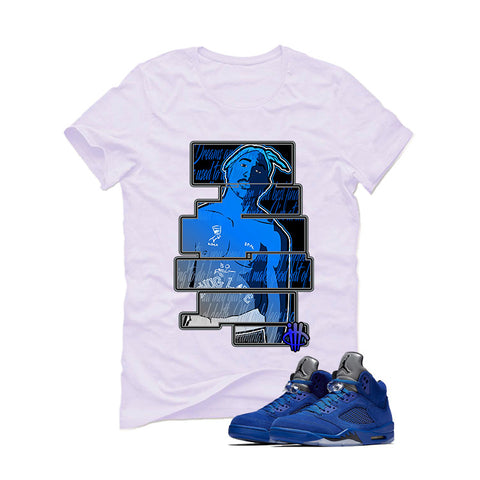 Air Jordan 5 Blue Suede White T (Dream)