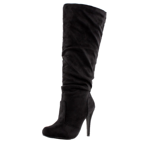 Baghdad Knee High Slouchy Boots