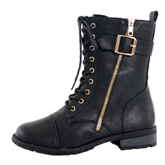 Berlin Combat Ankle Boots