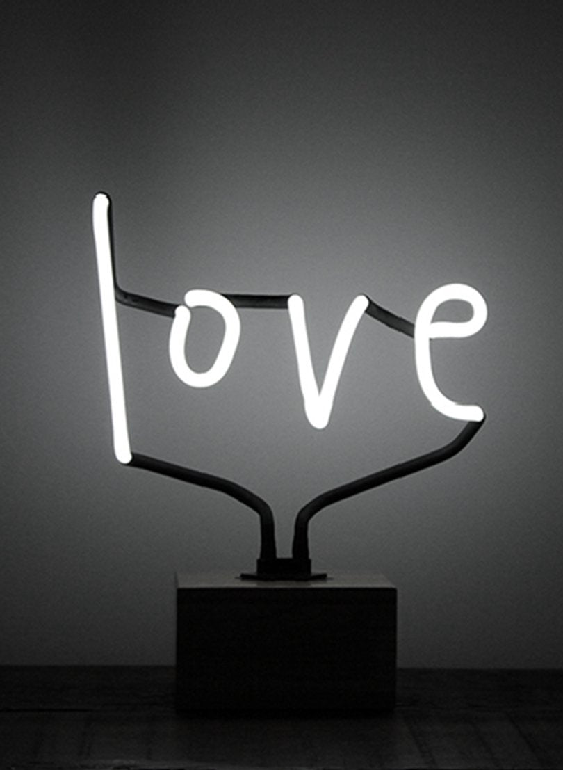 SOMEKIND Neon Love Wood