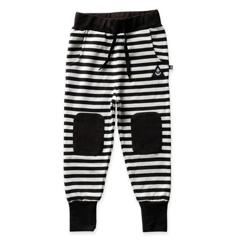 Hello Stranger Striped Staple Trackies