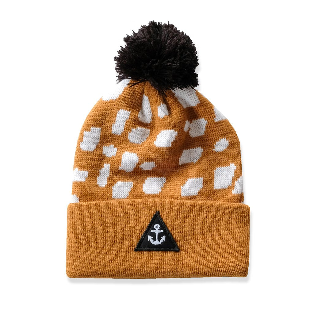 Hello Stranger Blot Beanie Golden