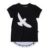 40% OFF Hello Stranger Free Bird Scoop Tee