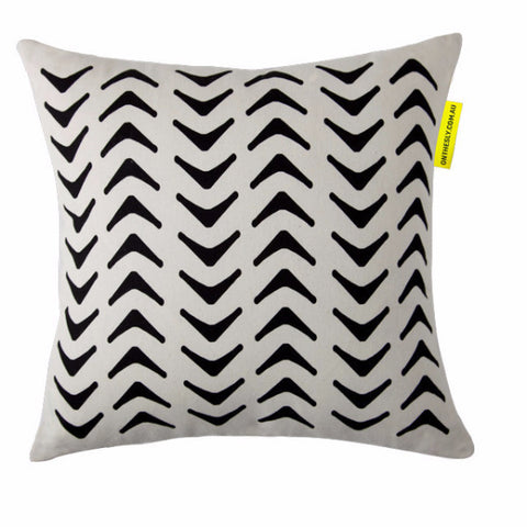 Aztec Black Cushion - LAST ONE!