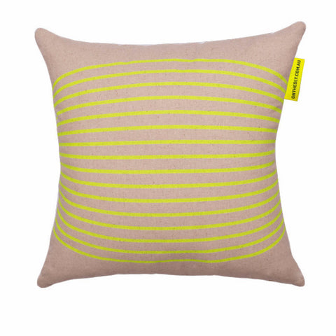 Nautica Cushion - Neon Yellow