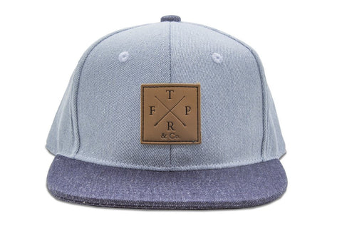 TFPR & Co Snapback Cap | Double Denim 30% OFF