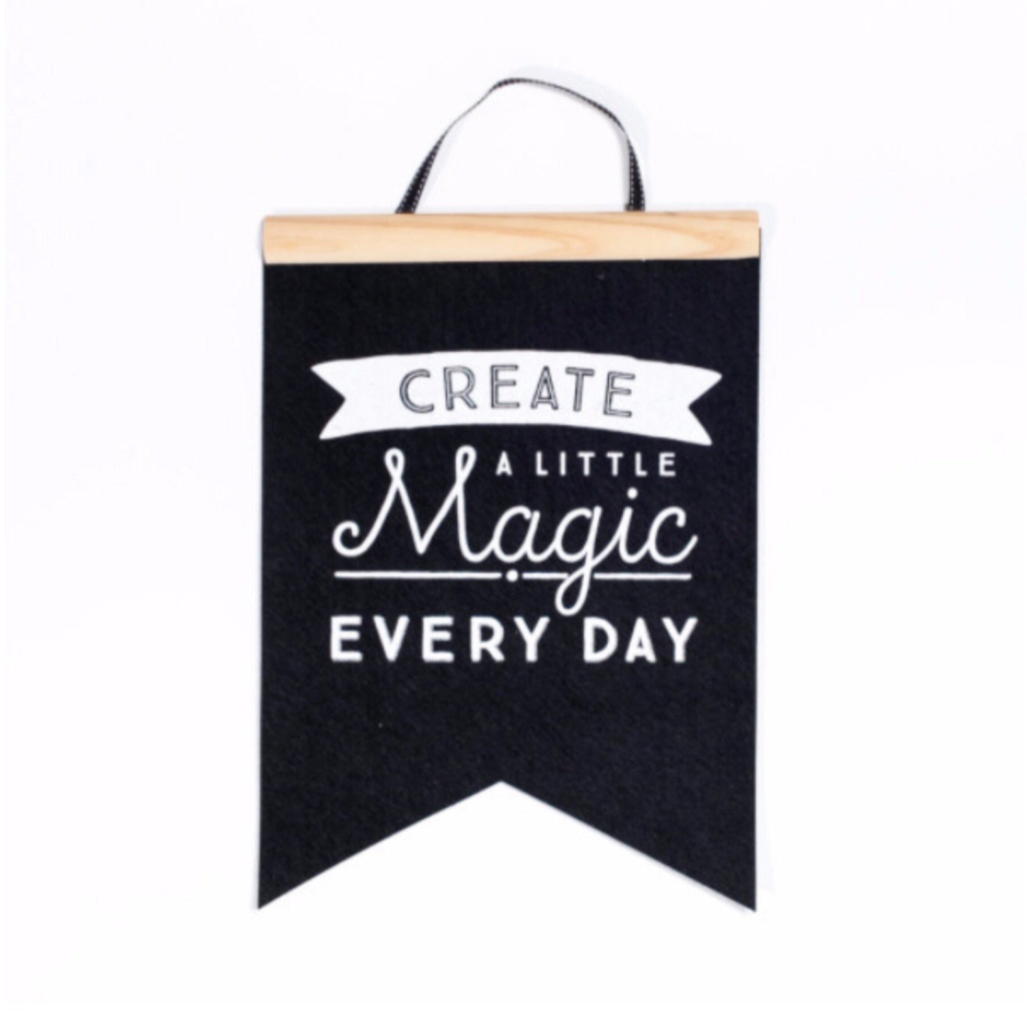 Create a Little Magic Felt Flag | BE QUICK! LAST ONE