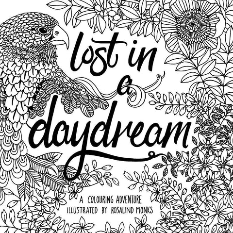 Colouring book - Lost in a daydream