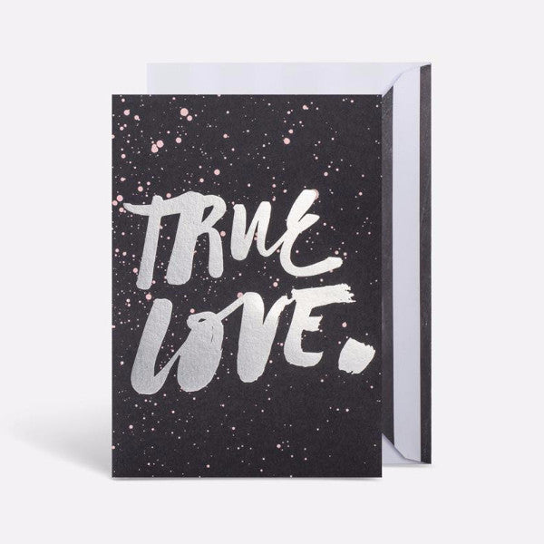 Blacklist Greeting Card | True Love