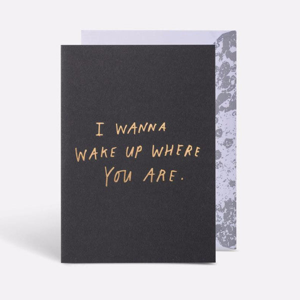 Blacklist Greeting Card | Where You Are