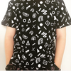 Triangle Tee | 80's Yardage - Black