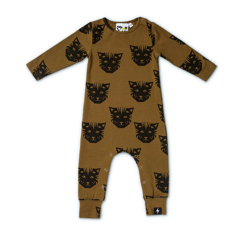 Kapow Tiger All-in-one Khaki