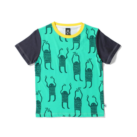 Littlehorn Thumbs Up Tee - Multi LAST ONE SIZE 2