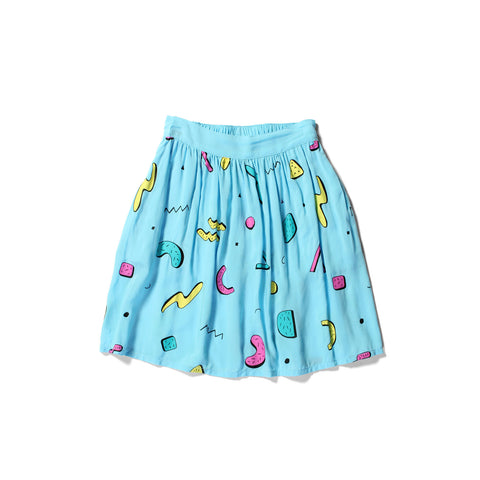 Littlehorn Confetti Skirt - Light Blue