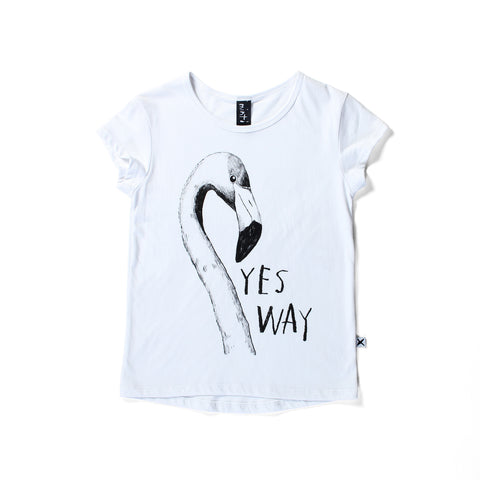 Minti Yes Way Capped Tee - White
