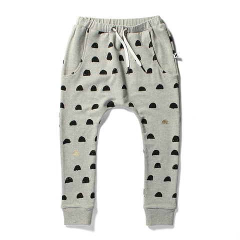 Minti Drop Trackies Moons Grey Marle 40% OFF LAST PAIR SIZE 8