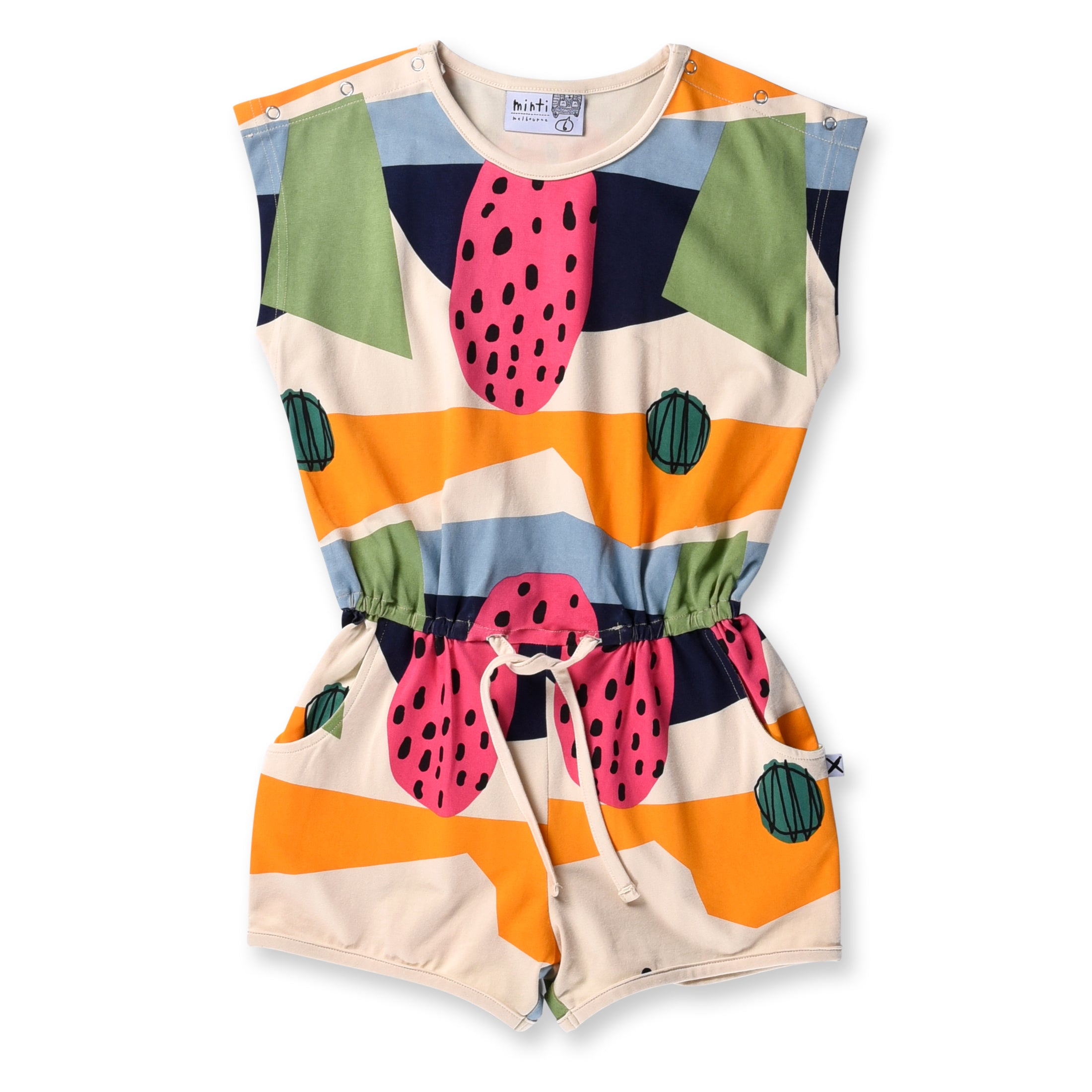 OVER 40% OFF Minti Favourite Colours Playsuit Multi LAST ONE SIZE 7